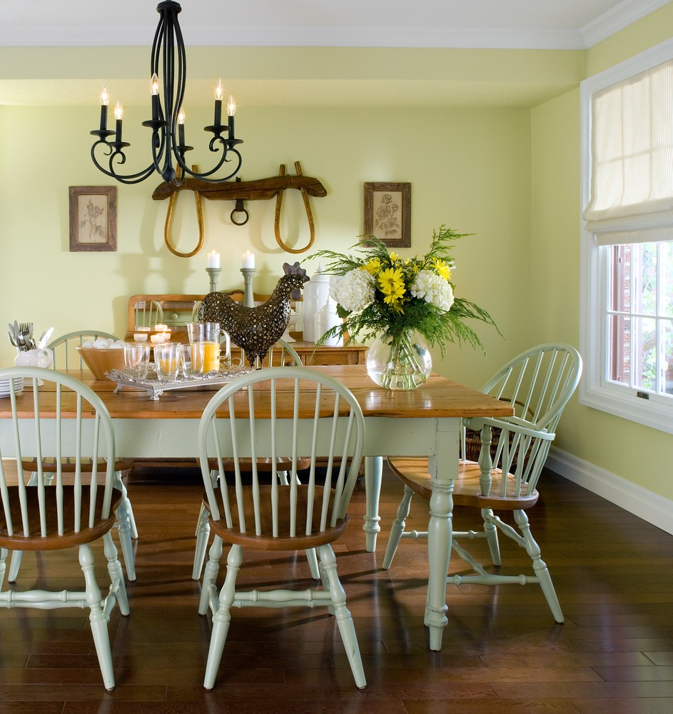 Key Interiors By Shinay English Country Dining Room: Colin & Justin