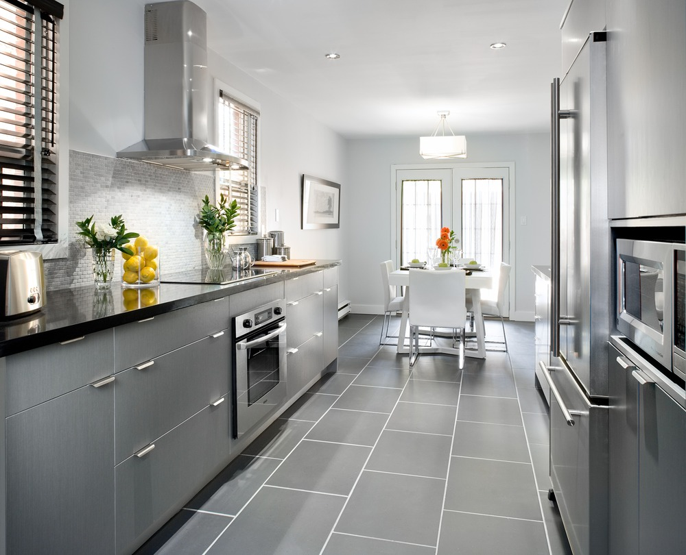 Grey kitchen floor tiles choice image tile flooring design ideas gray floor tiles kitchen gallery home flooring design grey kitchen cabinets dark floor quicua kitchen marialoaizafo doublecrazyfo Choice Image