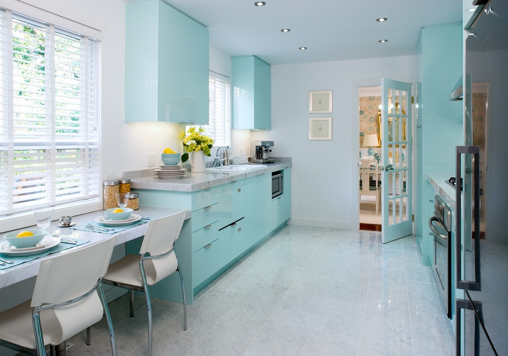 amazing Tiffany Blue Kitchen Appliances #9: 10 Best images about New retro 50u0027s kitchen!!! on Pinterest | Stove, Retro  kitchens and Retro dining table