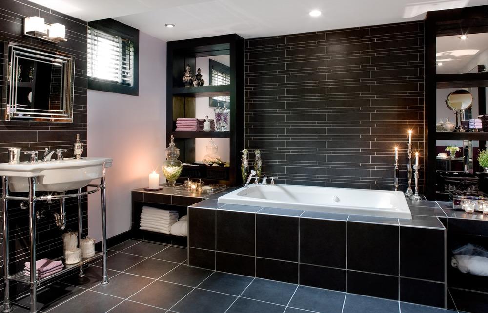 Colin Justin Viewing Interiors – Spa Style Bathroom