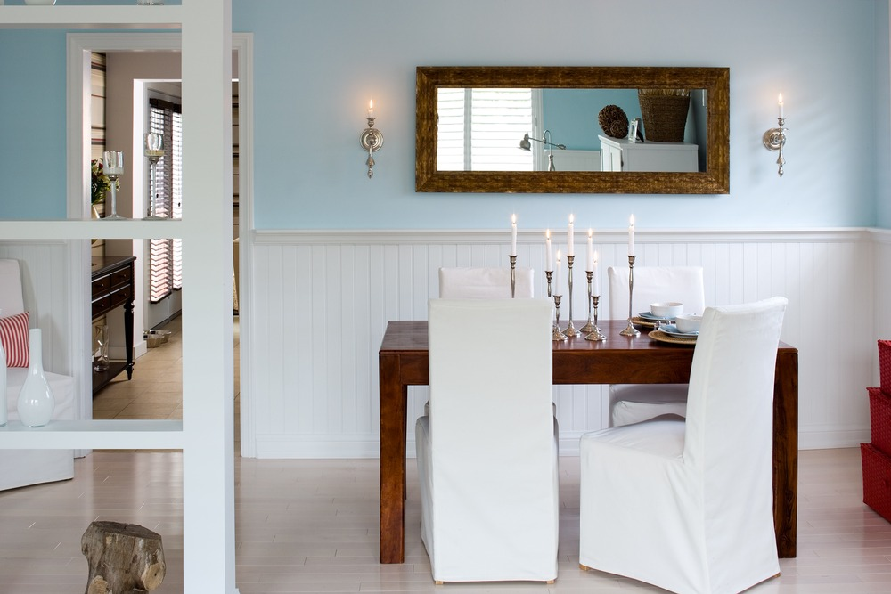 Enchanting new england style dining room gallery best for New england style homes interiors