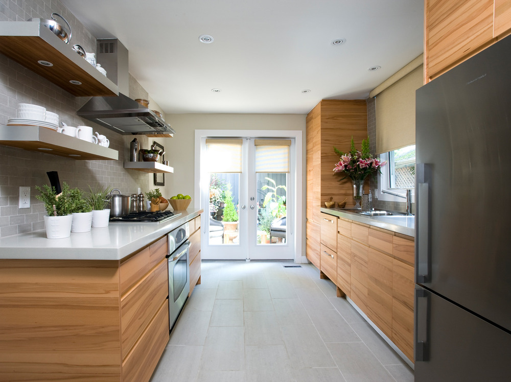 A Before And After Galley Kitchen Renovation Series Of Photosa Interesting Kitchen Design Applet Decorating Design