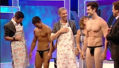 Naked man body paint azari